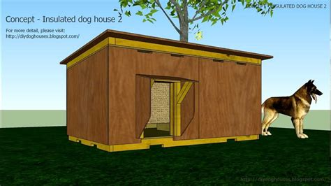 concept insulated dog house  youtube
