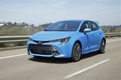 toyota hatchback 2019 toyota corolla hatchback review digital trends