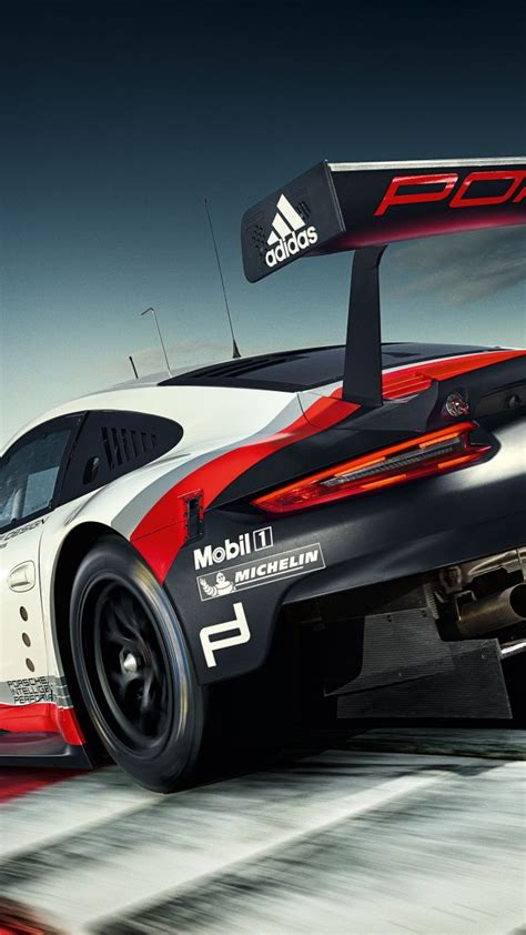 car wallpaper vertical wallpaper porsche 911 rsr sport car racing cars bikes