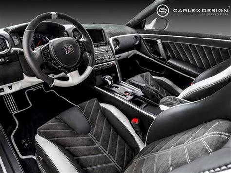 custom interior for nissan gt r by carlex design