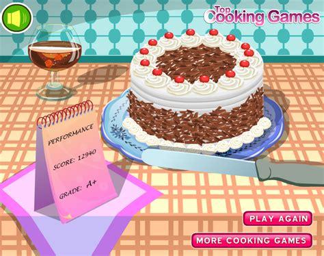 permainan membuat kue valentine permainan memasak kue black forest permainan memasak wow