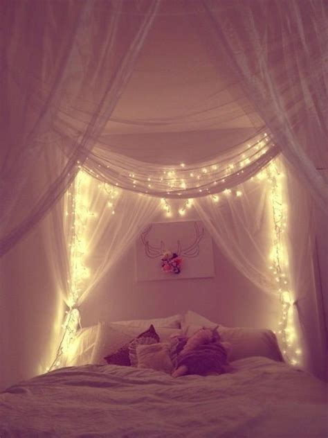 fairy lights for bedroom this bedroom is so inviting and cosy cute fairy lights