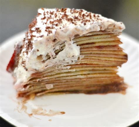 Mille Crepes Cake the world in my kitchen mille feuilles de cr 234 pes cake