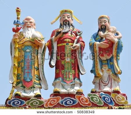Montgomery Hime Also Search For Three Gods On The Roof Spiritual Statues