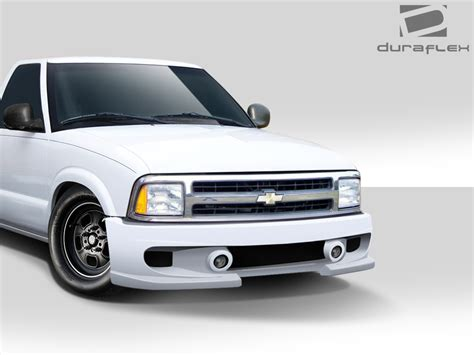 gmc sonoma front bumper duraflex s 10 gmc sonoma bt 1 front bumper kit 1 p