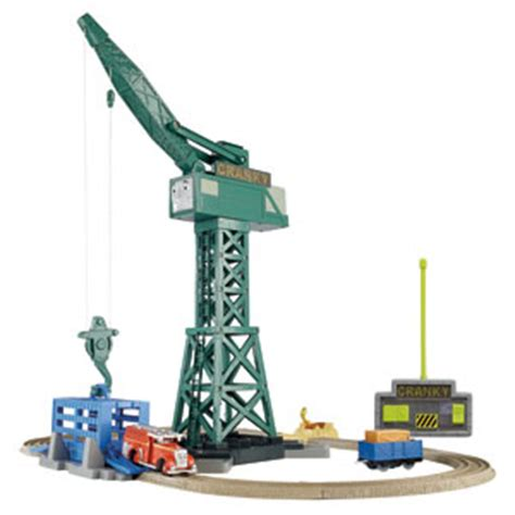 ultimotion swing zone sports thomas and friends trackmaster cranky and flynn save the