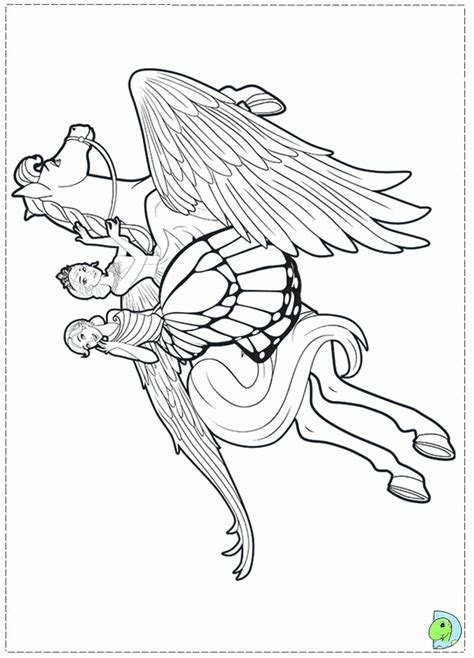mariposa barbie coloring pages coloring home