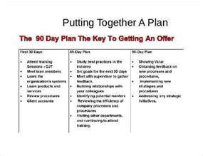 30 60 90 Day Plan Template by 30 60 90 Day Plan Template 20 Free Word Pdf Ppt