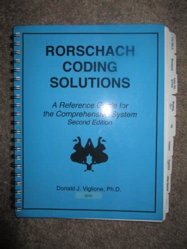 coding solution rorschach coding solutions a reference guide for the
