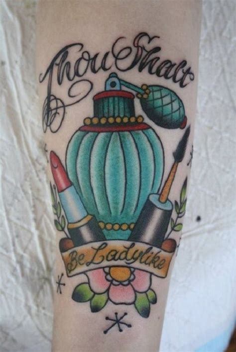 perfume tattoo perfume bottle design tattoos