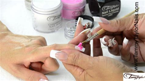 tammy taylor nails inc youtube tammy taylor how to make a 3d bow from scratch youtube