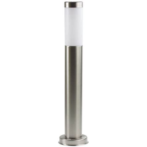 stainless steel solar post light new 60cm post light solar stainless steel garden driveway