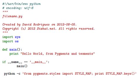 latex tutorial source code latex easy code syntax highlight with pygments and