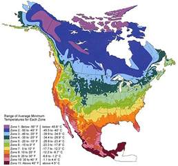 america temperature map climate zone maps horticulture and soil science wiki