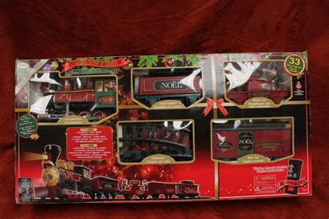 christmas train set north pole express by eztec 37187 very