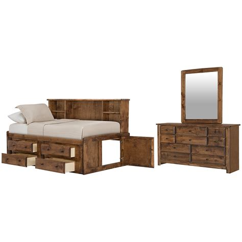 city furniture laguna tone storage bookcase daybed