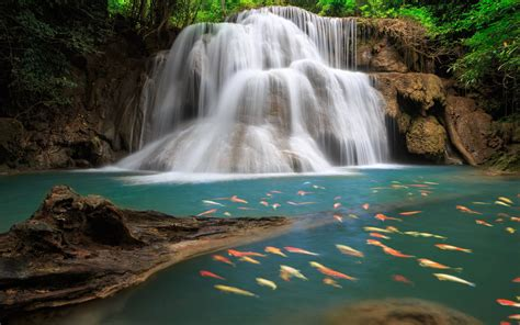 waterfall backgrounds pictures wallpaper cave