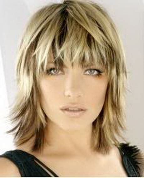 razor cut hairstyles razor medium haircuts
