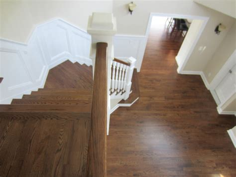 "Aquebogue new construction   3 1/4"" Red Oak installed"