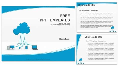 Cloud Computing Powerpoint Templates Cloud Computing Ppt Templates Free