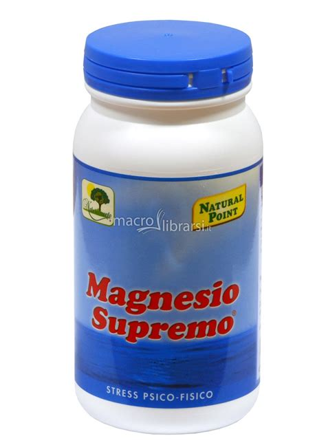 magnesio supremo a cosa serve magnesio scopriamo a cosa serve questo indispensabile