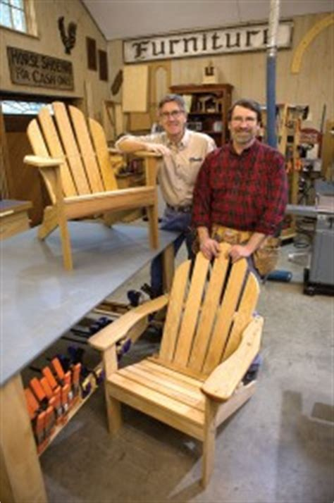 yankee woodworking new yankee workshop adirondack chair out in the elements