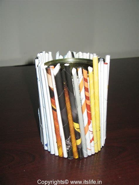 How To Make Pen Stand Using Paper - how to make a pen stand with paper 28 images pen stand