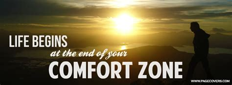 life begins outside of your comfort zone little talks effortlesspassions