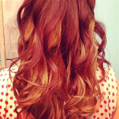 hairstyles blonde on top red underneath red on top blonde underneath hairstyle gallery