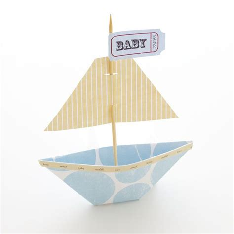 how to make a boat quickly how to make your own party favor sail boat one comes