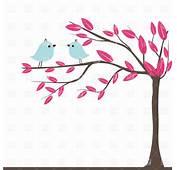 Bird On Tree Branch Clip Art 51