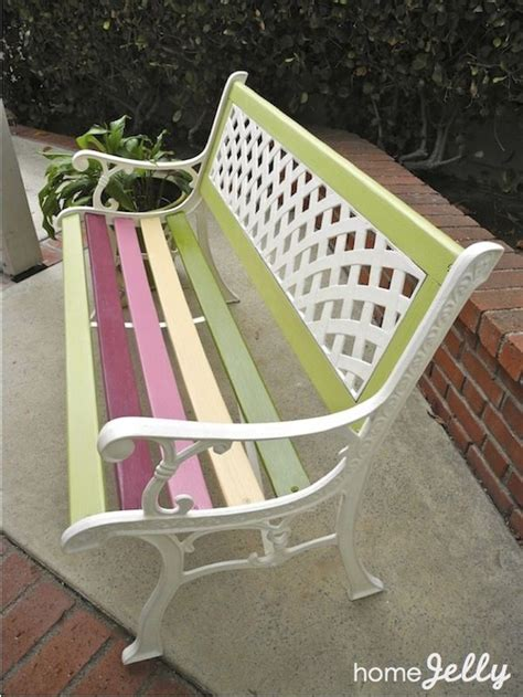 Country Park Detox Facility by Best 25 Painted Benches Ideas On White Bench