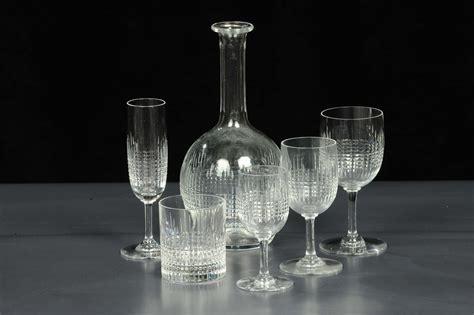 servizio di bicchieri servizio di bicchieri in cristallodi baccarat