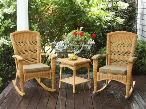 Patio Furniture Rocking Chair by Back To Your Times With Patio Rocking Chairs