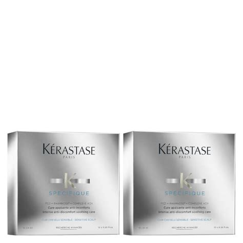 Kerastase Cure Apaisante Anti Inconforts 12x 6ml k 233 rastase specifique cure apaisant anti inconforts