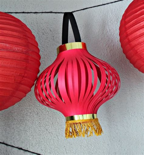 Paper Lantern Craft Ideas - paper craft for new year creative and craft