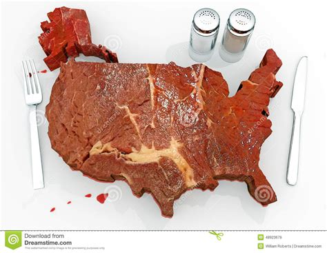 united steaks of america map if each state could have only one united steaks of america stock illustration image 48923679