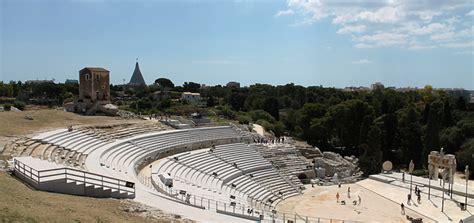 teatro greco di siracusa siracusa teatro greco di siracusa scopri con citymap il monumento