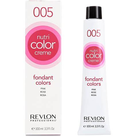 revlon nutri color creme revlon professional nutri color creme 005 pink 100ml