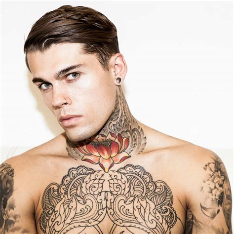 stephen james tattoos stephen by darren black