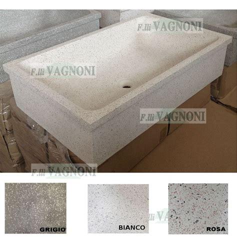 lavelli graniglia lavandino in graniglia di marmo e cemento levigato cm