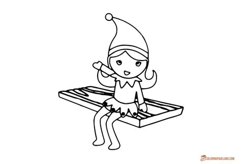 On The Shelf Coloring by Coloring Pages Free Printable Collection