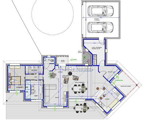 Villa Plans by Plan Maison Cubique 150 M2