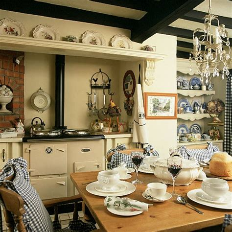 traditional country kitchen diner kitchen design