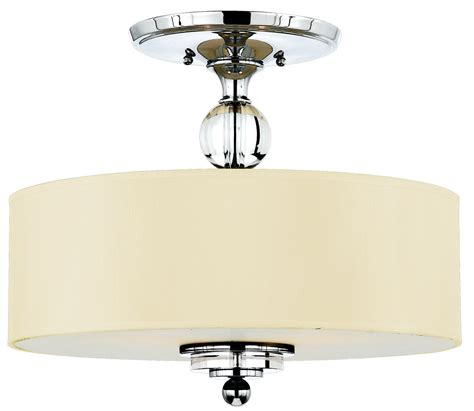 Contemporary Ceiling Lights Quoizel Dw1717c Downtown Modern Contemporary Semi Flush Mount Ceiling Light Qz Dw1717c