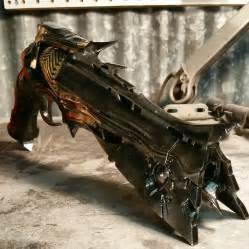 Exists an incredibly detailed thorn hand cannon replica 3dprint com