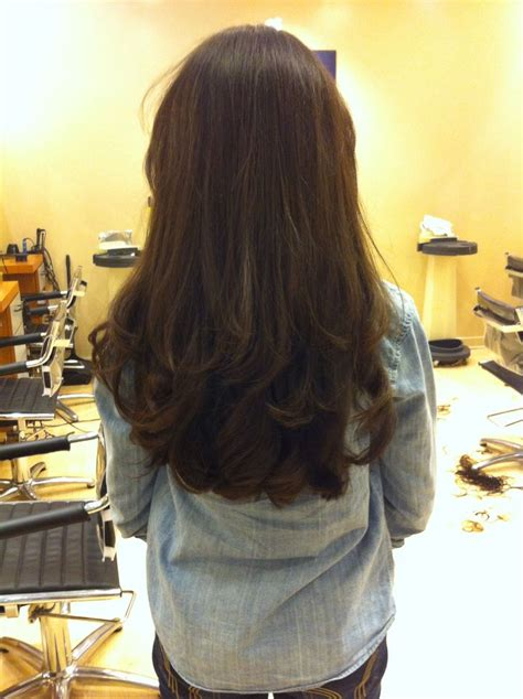 shoukd length hair with layers at back mid back length with layers love my hair hair
