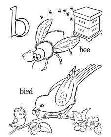bluebonkers free printable alphabet coloring pages letter b