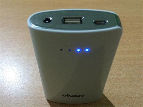 Powerbank Vivan power bank vivan p06 6600mah casingcoverhape