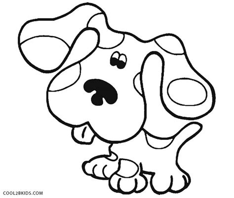 Blues Clues Notebook Coloring Page